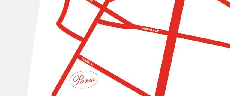 Map to Parm Battery Park City location